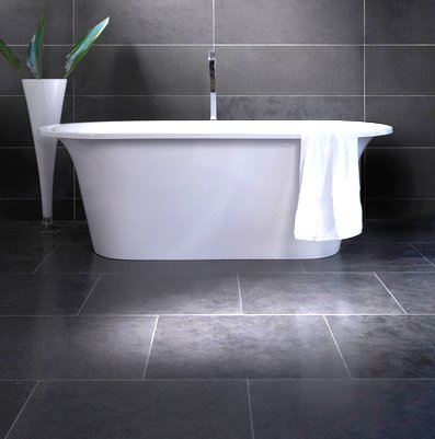 what is the best type of flooring for a bathroom tile laminate