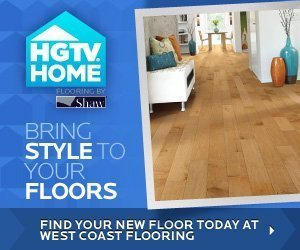 Smart, stylish flooring by HGTV Shaw.
