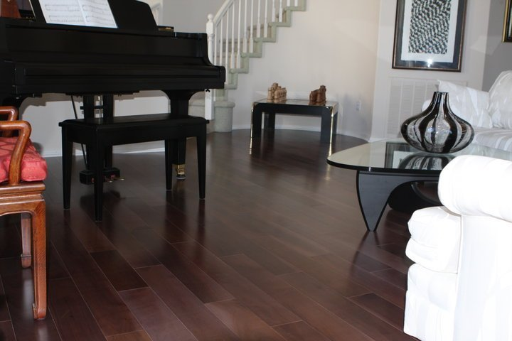 Real customer flooring by West Coast Flooring center.