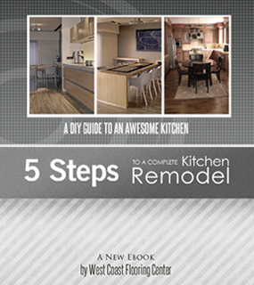 West Coast Flooring's book on the flooring process